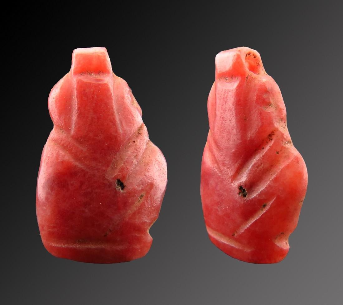 Egyptian Carnelian Harpocrates Amulet