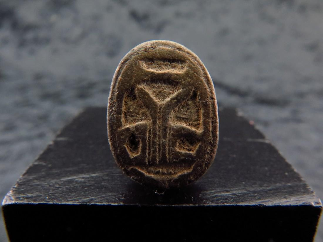 Egyptian Steatite Scarab - 3