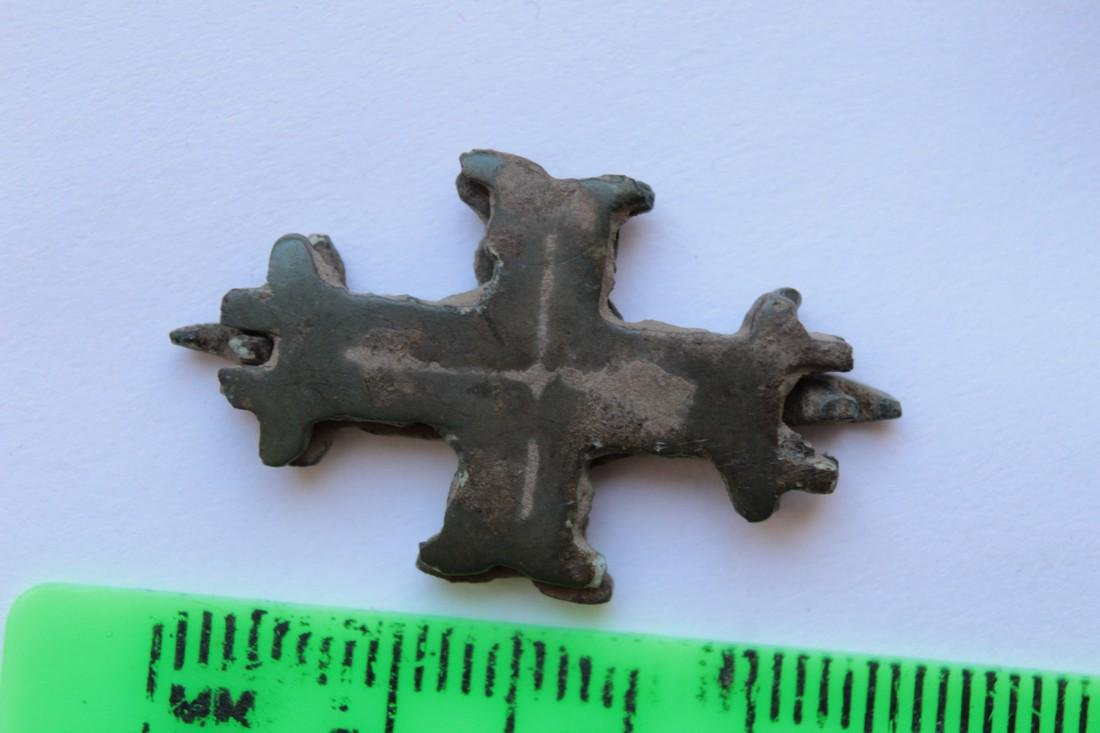 Medieval Bronze Encolpion (Two Parts) - 5