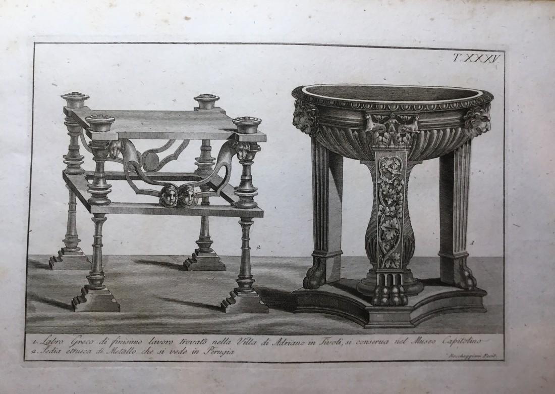 Antique Engraving Print 1804