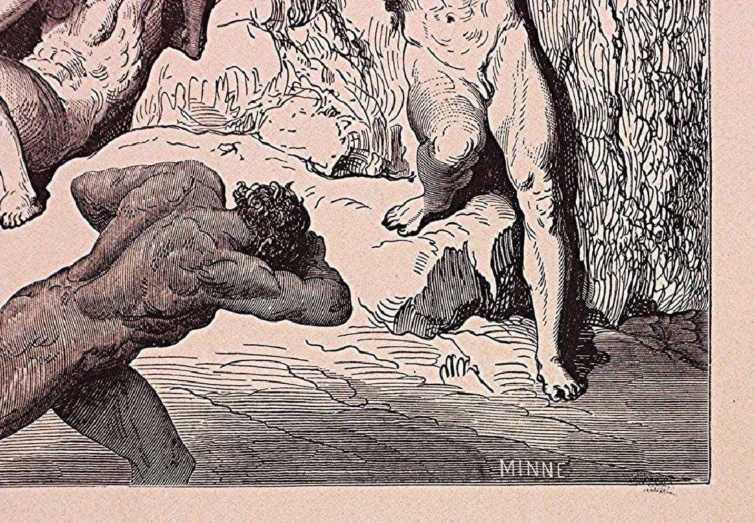 Gustave Doré - Dante Alighieri's Inferno Punishment - 2
