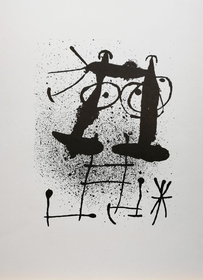 Joan Miró Untitled 1967 Original lithograph