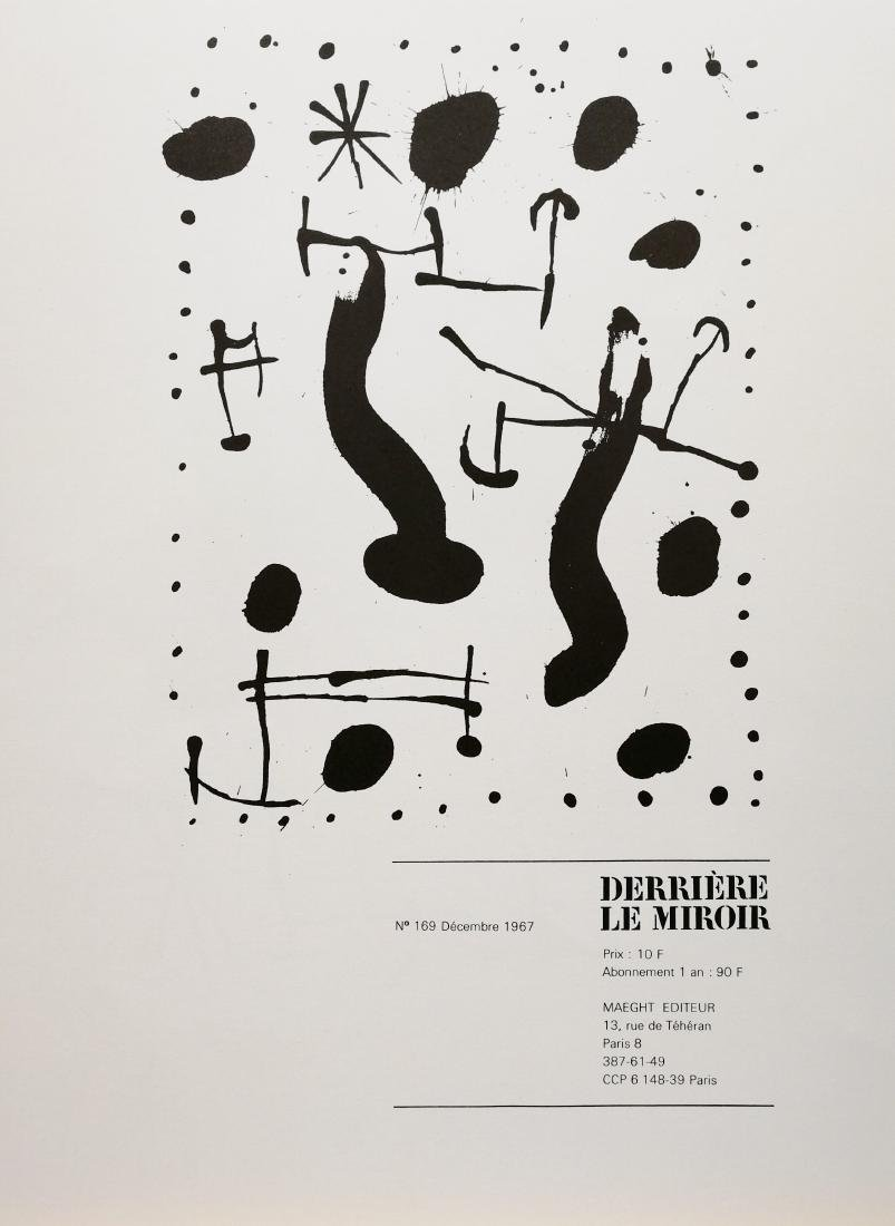 Joan Miró Untitled 1967 Original lithograph - 2