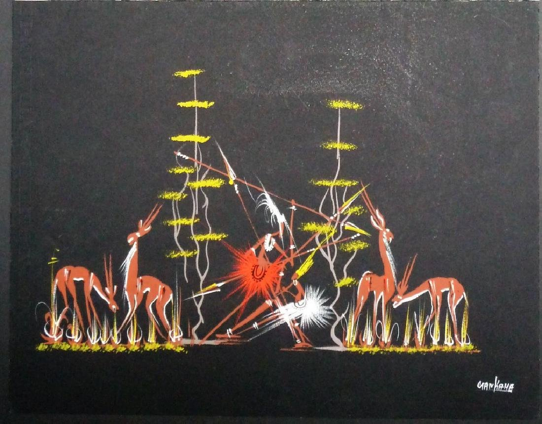 Original Art - African Rituals Two original drawings