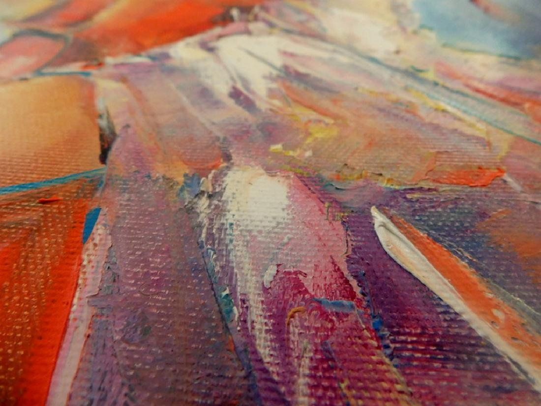 Stanisław Wesołowski Muza oil on canvas - 5