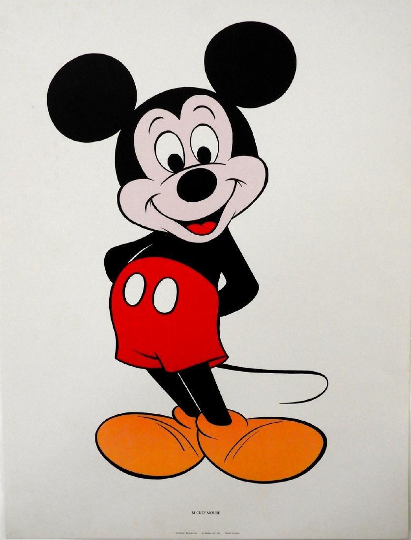Walt Disney Mickey Mouse 1970's