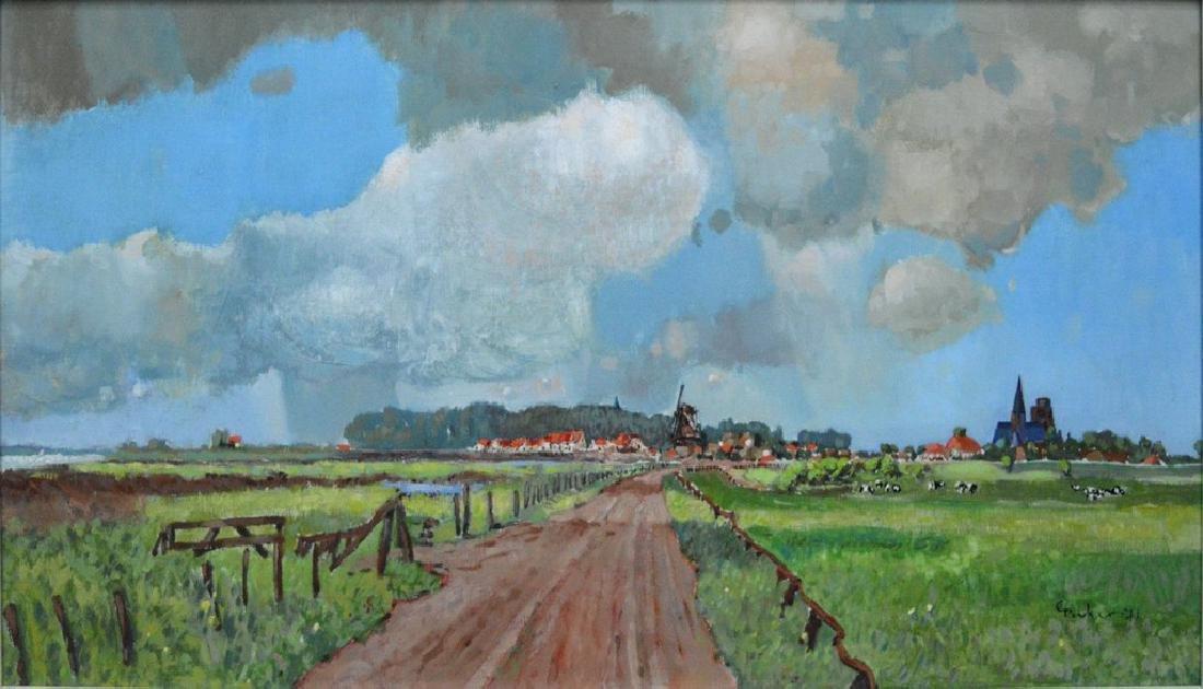 Gruker Landschap Dutch 1971