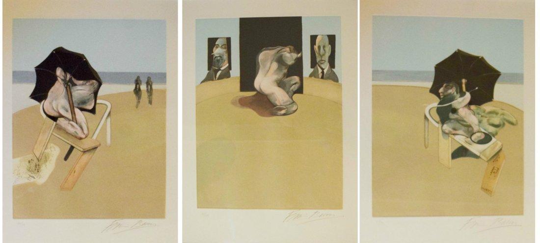 FRANCIS BACON Metropolitan Triptych