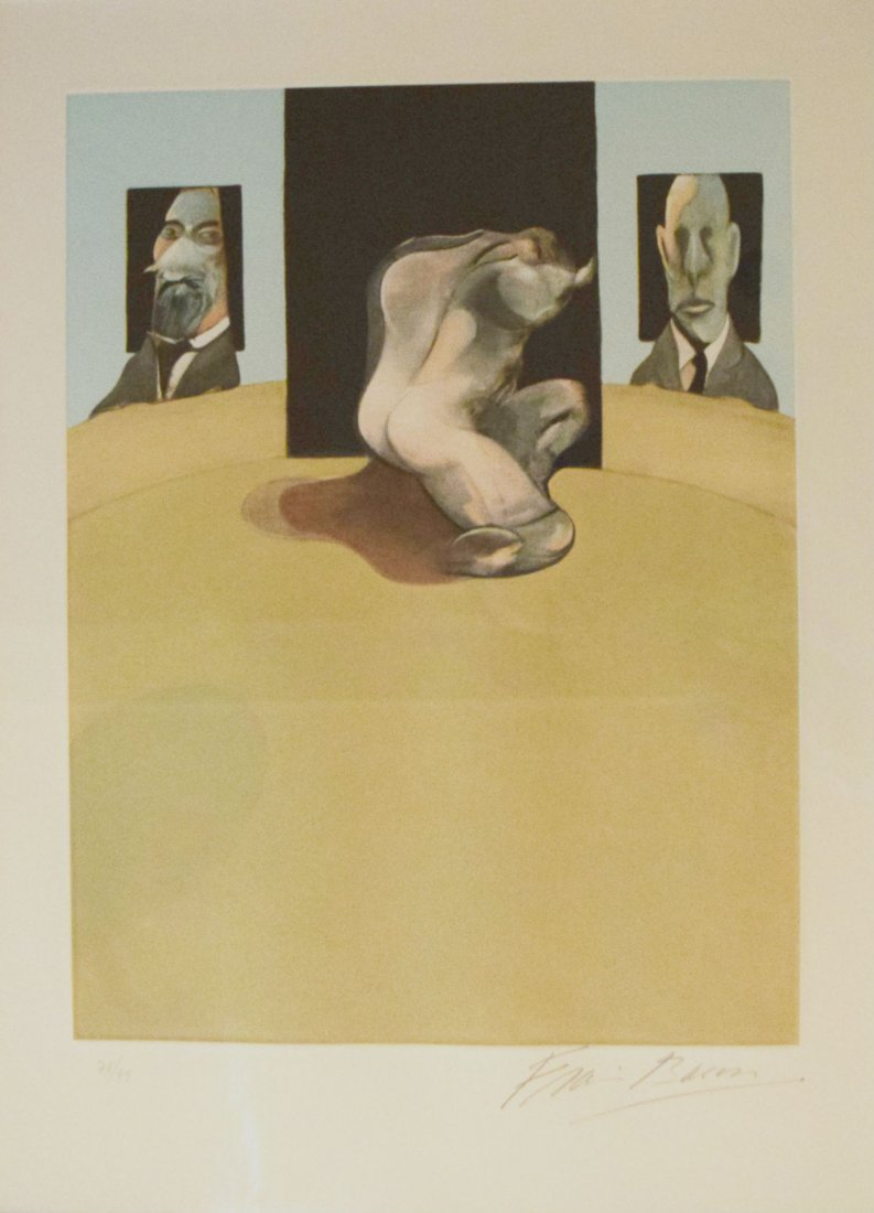 FRANCIS BACON Metropolitan Triptych - 4