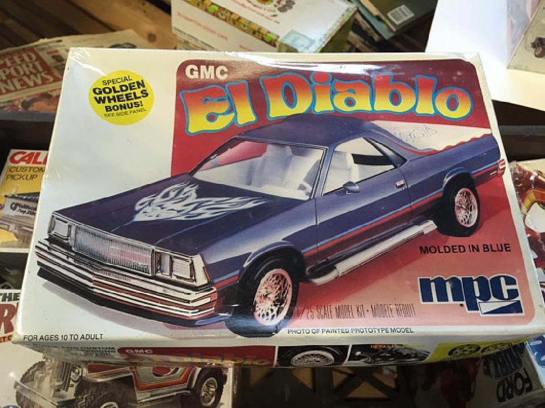 MPC plastics GMC El Diablo Car kit 1/25 scale NOS
