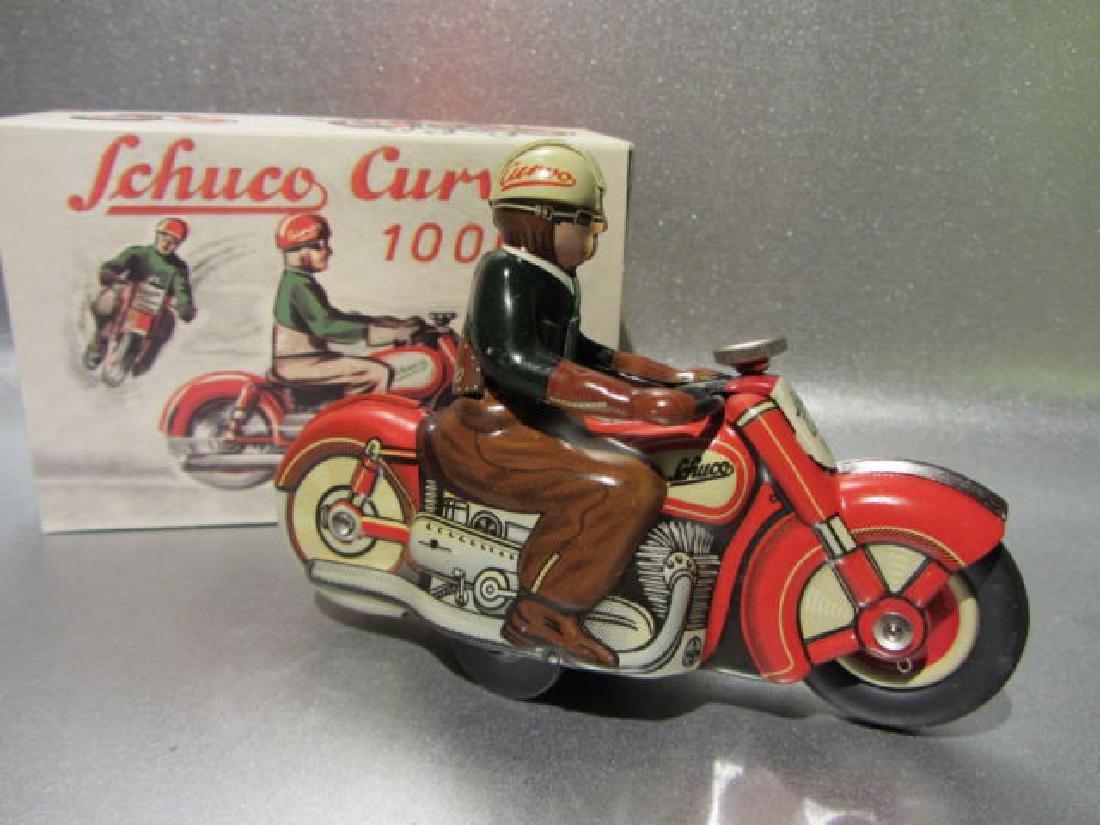 Schuco Curvo motorcycle reproduction