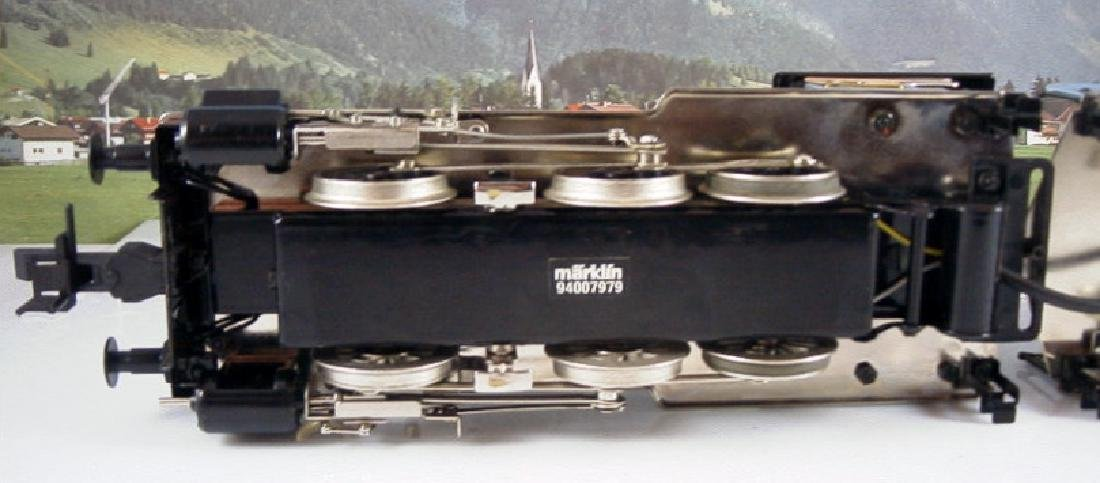 Märklin Maxi  45296/ 45297- Polished Metal  Steam - 10