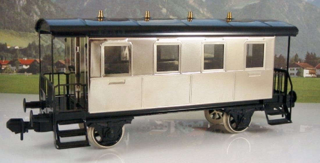 Märklin Maxi  45296/ 45297- Polished Metal  Steam - 12