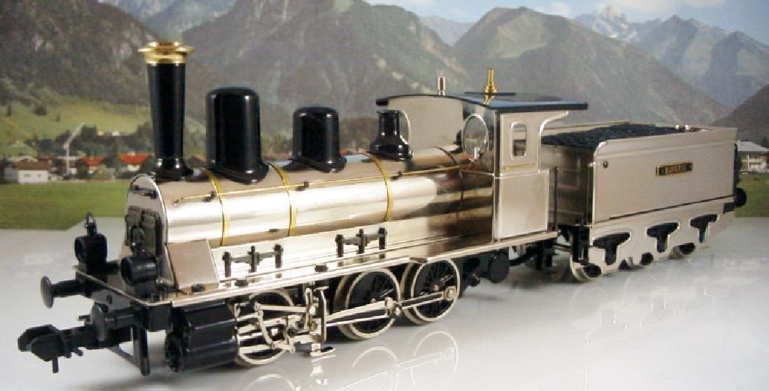 Märklin Maxi  45296/ 45297- Polished Metal  Steam - 4