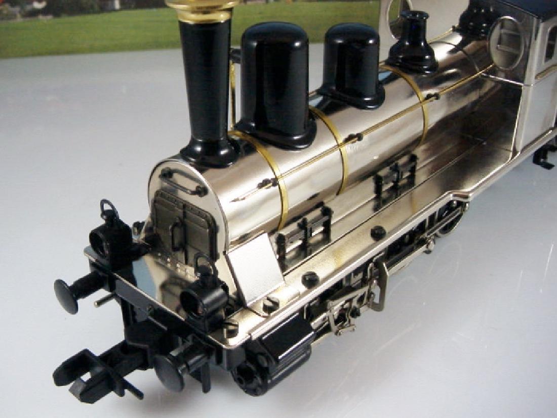 Märklin Maxi  45296/ 45297- Polished Metal  Steam - 5