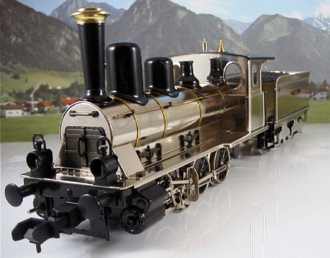 Märklin Maxi  45296/ 45297- Polished Metal  Steam - 6