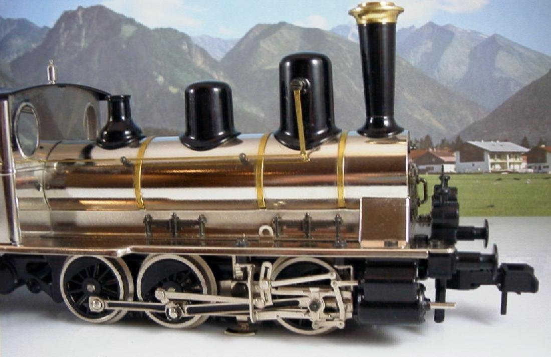 Märklin Maxi  45296/ 45297- Polished Metal  Steam - 8