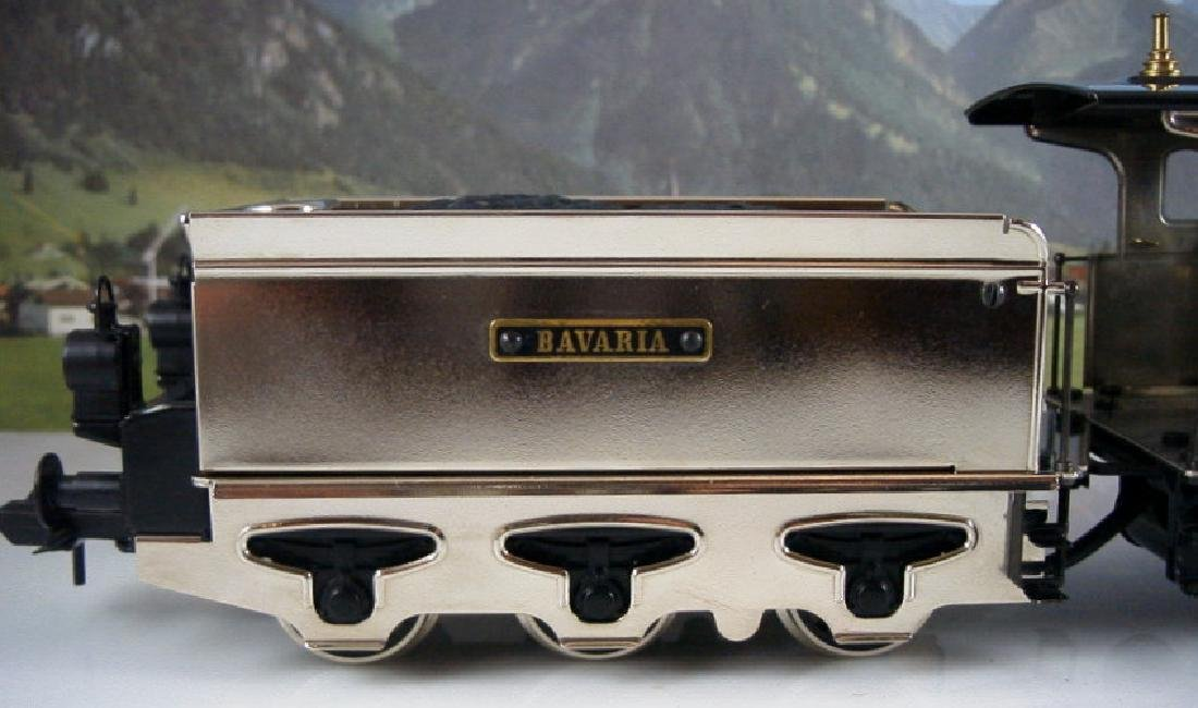 Märklin Maxi  45296/ 45297- Polished Metal  Steam - 9