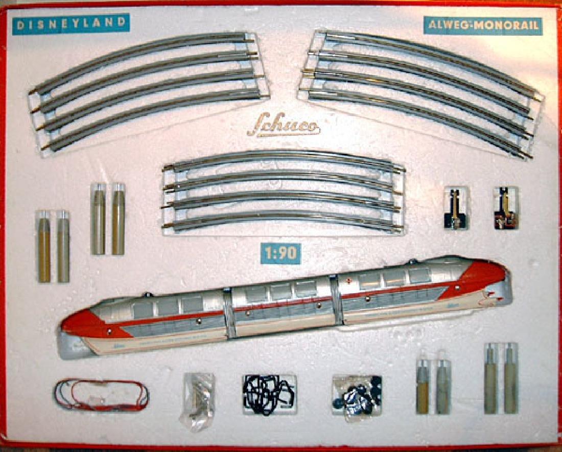 Schuco Monorail / Schuco Disneyland Alweg Monorail