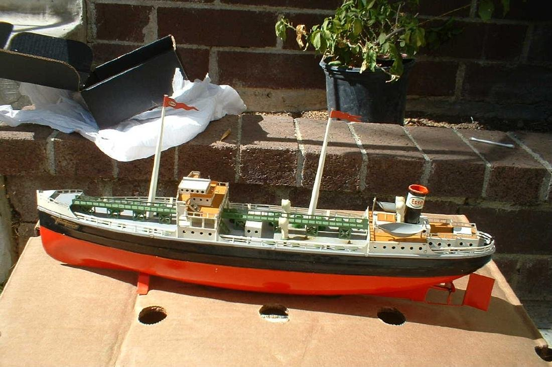 """Late 1940's """"Made in US Zone Germany"""" Tanker"""