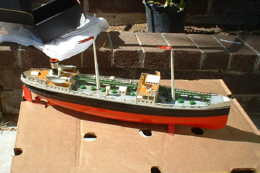 """Late 1940's """"Made in US Zone Germany"""" Tanker - 3"""
