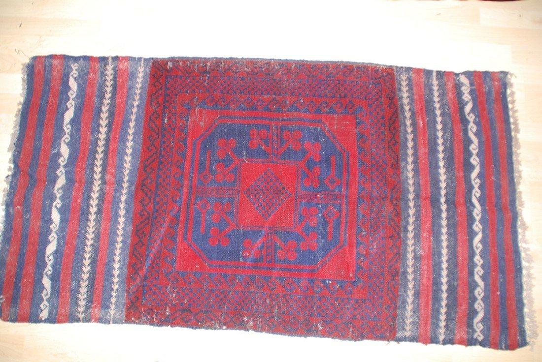 Kazak SumakTribal Rug 5x2.9