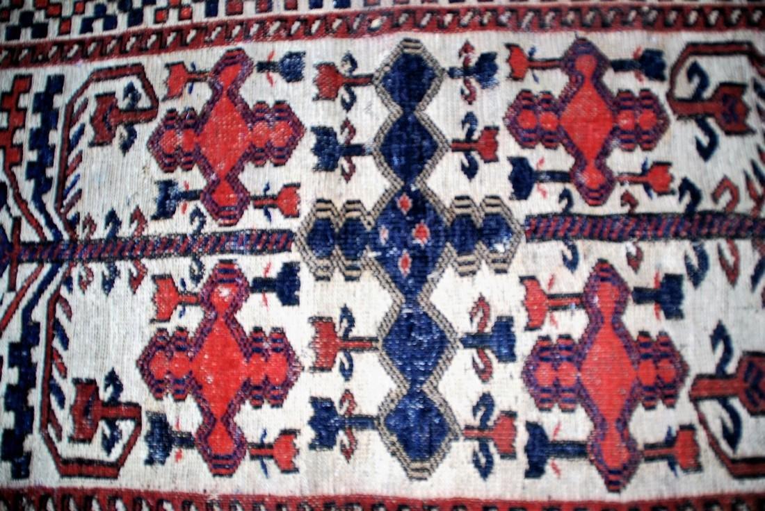 Vintage Baluch Rug 3.9x2.9 - 2