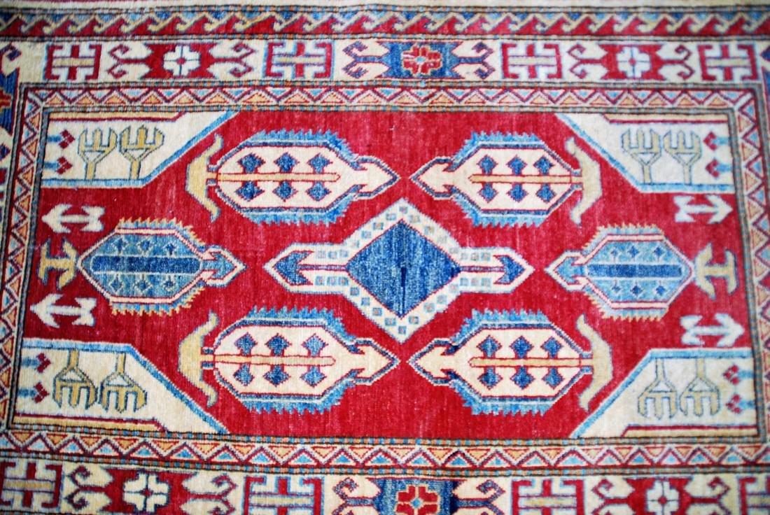 Vintage mid- 20th century Kazak Rug 5.2x3 - 2