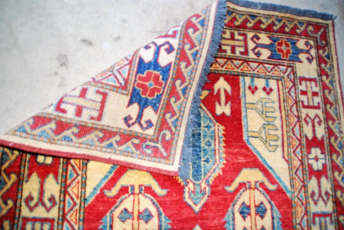 Vintage mid- 20th century Kazak Rug 5.2x3 - 3