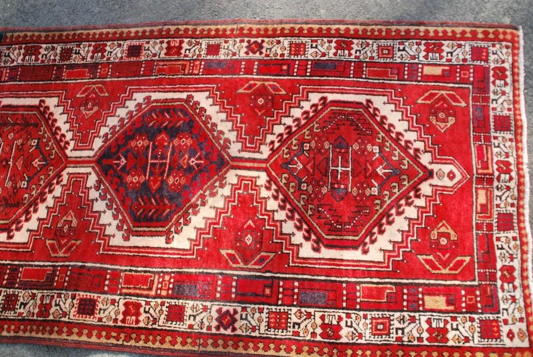 Vintage Kazak Rug 10.9x3.6 - 2