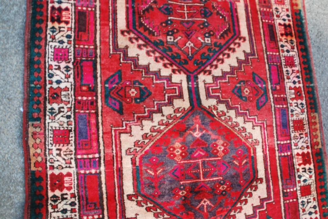 Vintage Kazak Rug 10.9x3.6 - 4