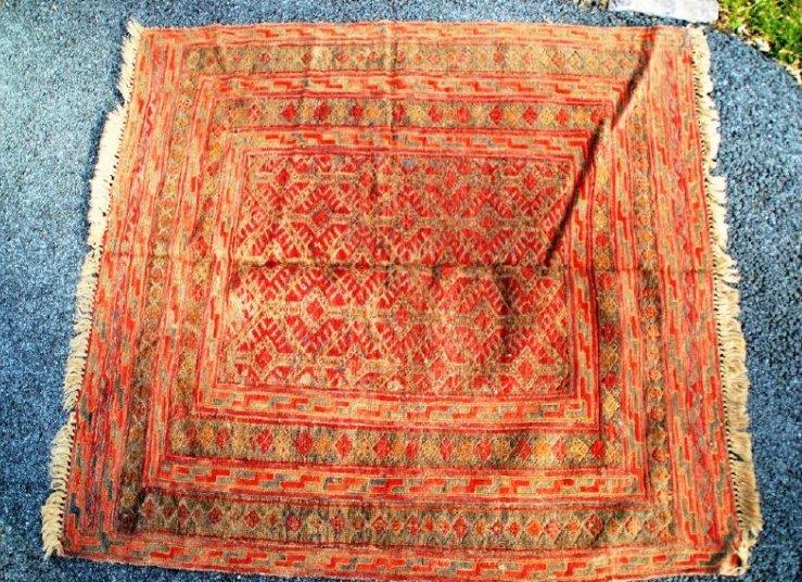 Antique Herati Rug 4x4
