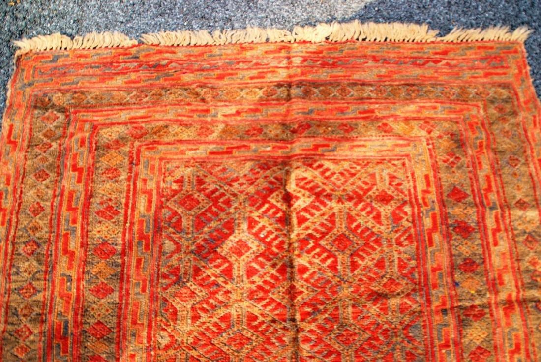Antique Herati Rug 4x4 - 2