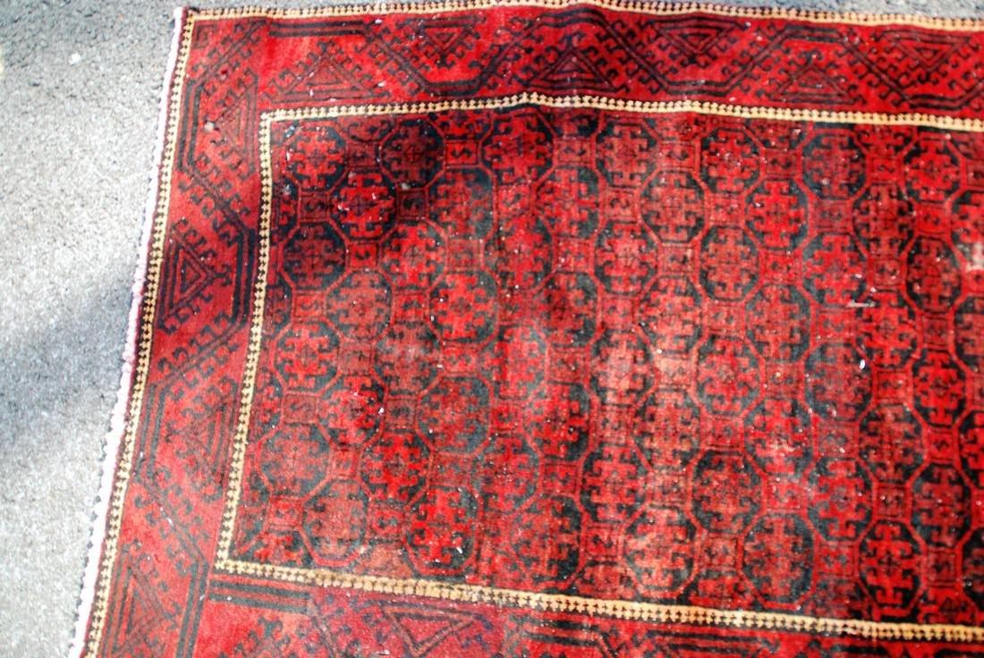 Vintage Persian Rug 6.3x3 - 3