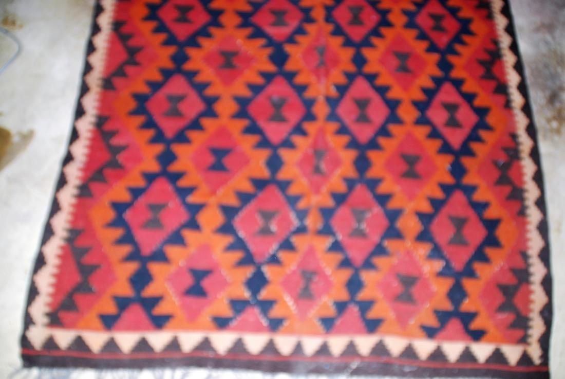 Afghan Tribal Kilim Rug 8x5.3