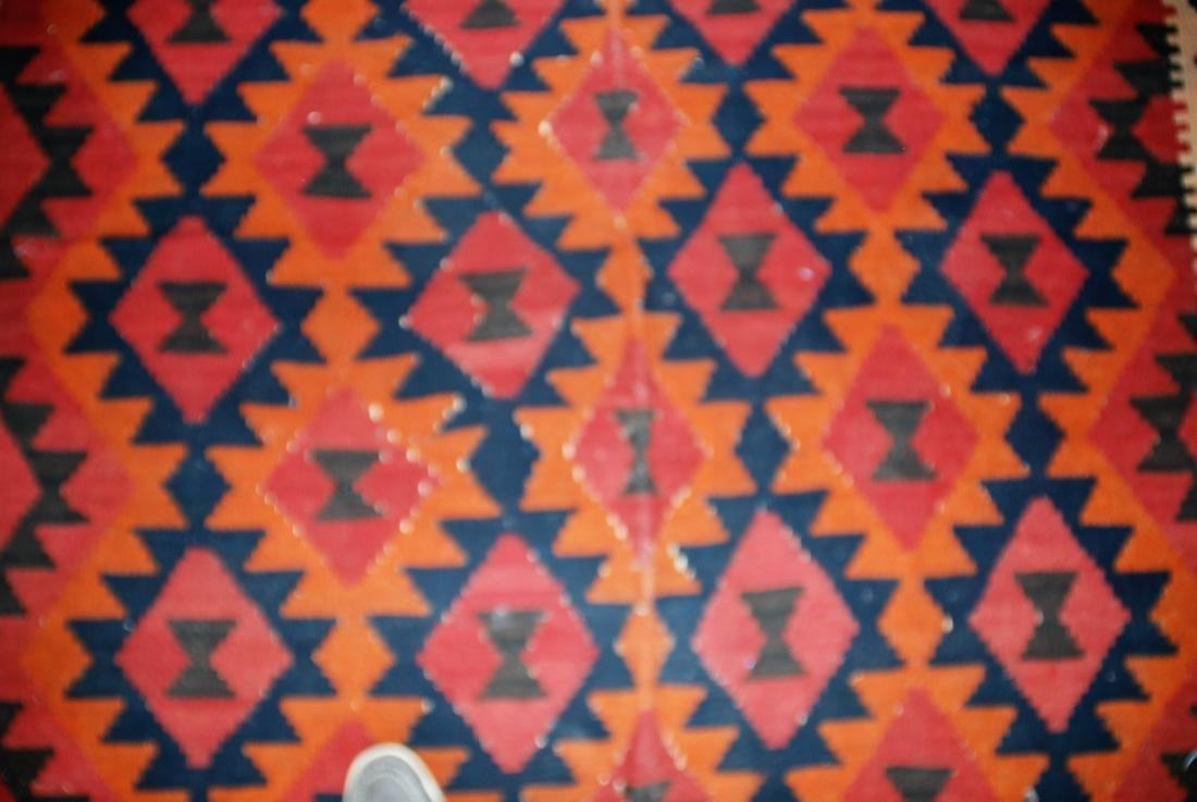 Afghan Tribal Kilim Rug 8x5.3 - 2