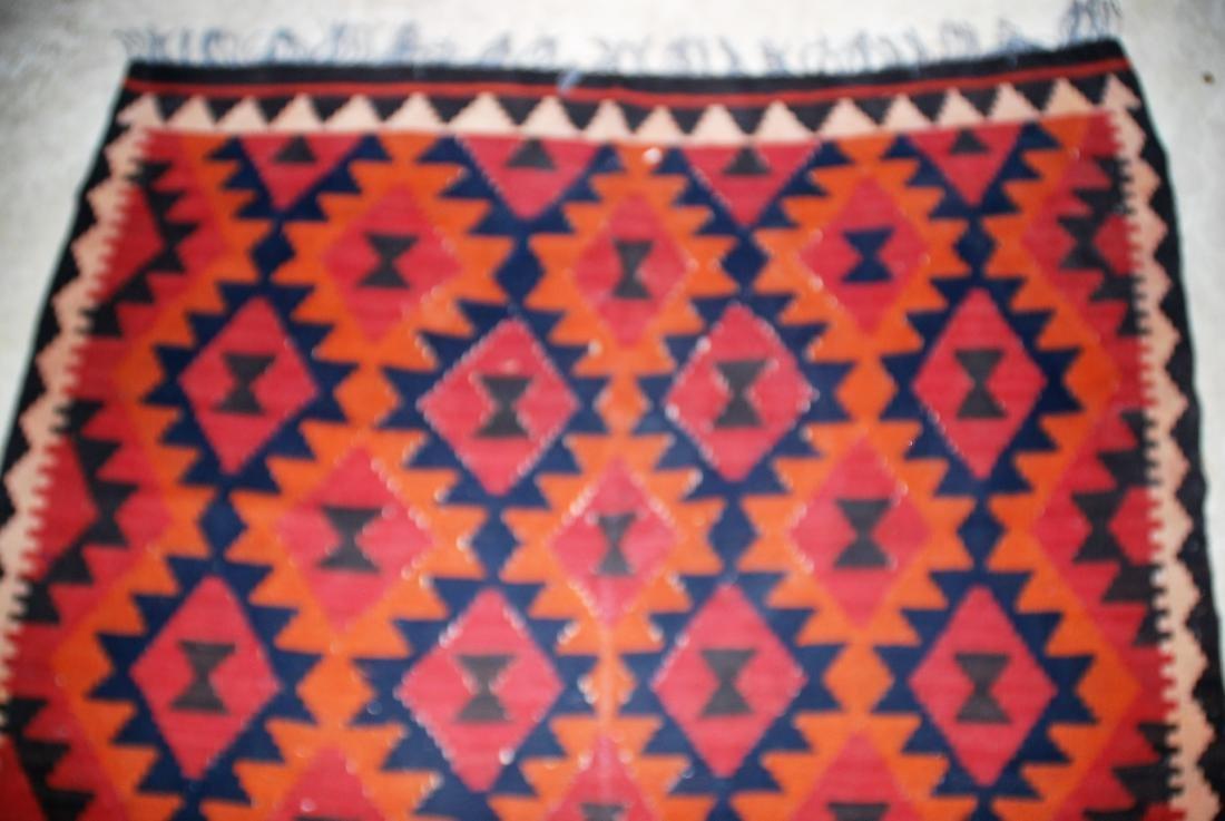 Afghan Tribal Kilim Rug 8x5.3 - 3