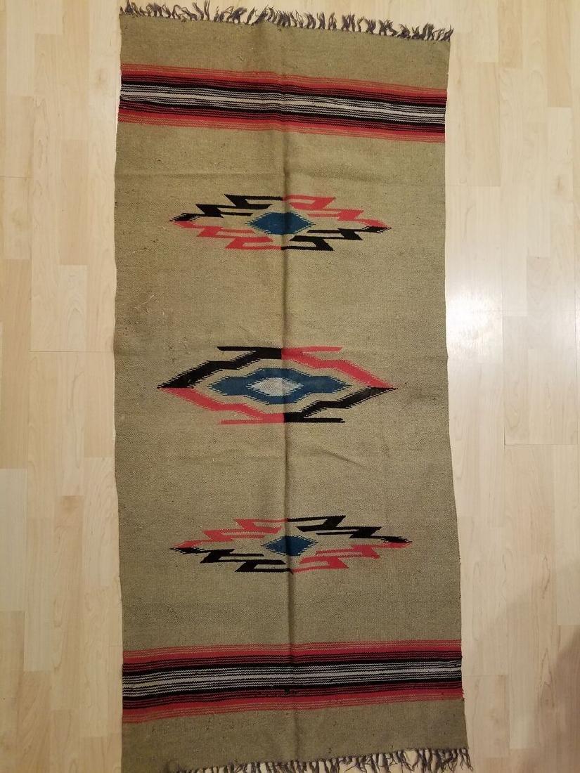 Navaho, early 20th century Rug 6x2.8