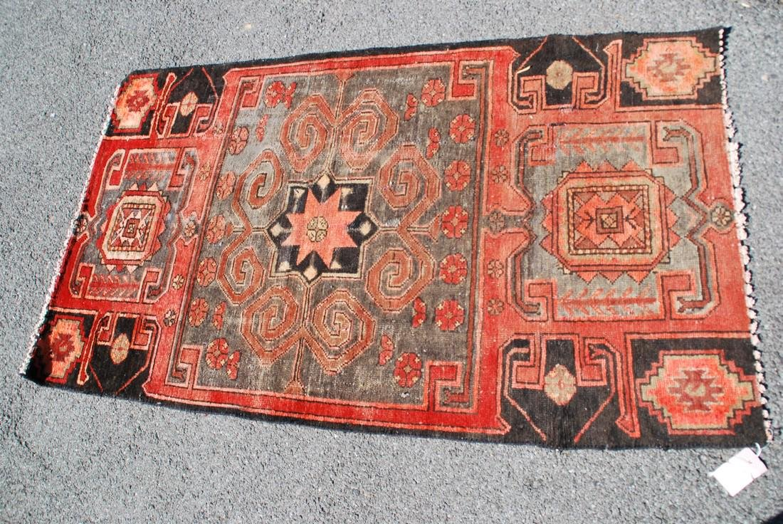Antique Kazak Rug 5.6x3.3