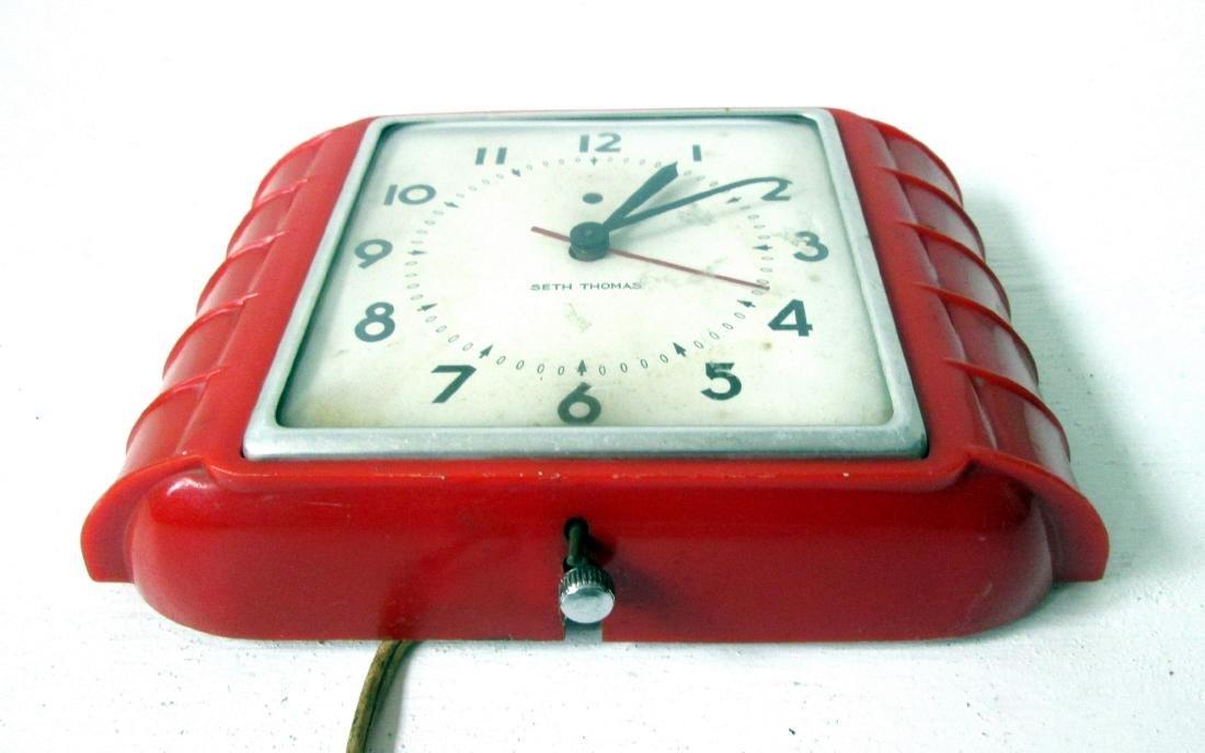 Art Deco Wall Clock - 4