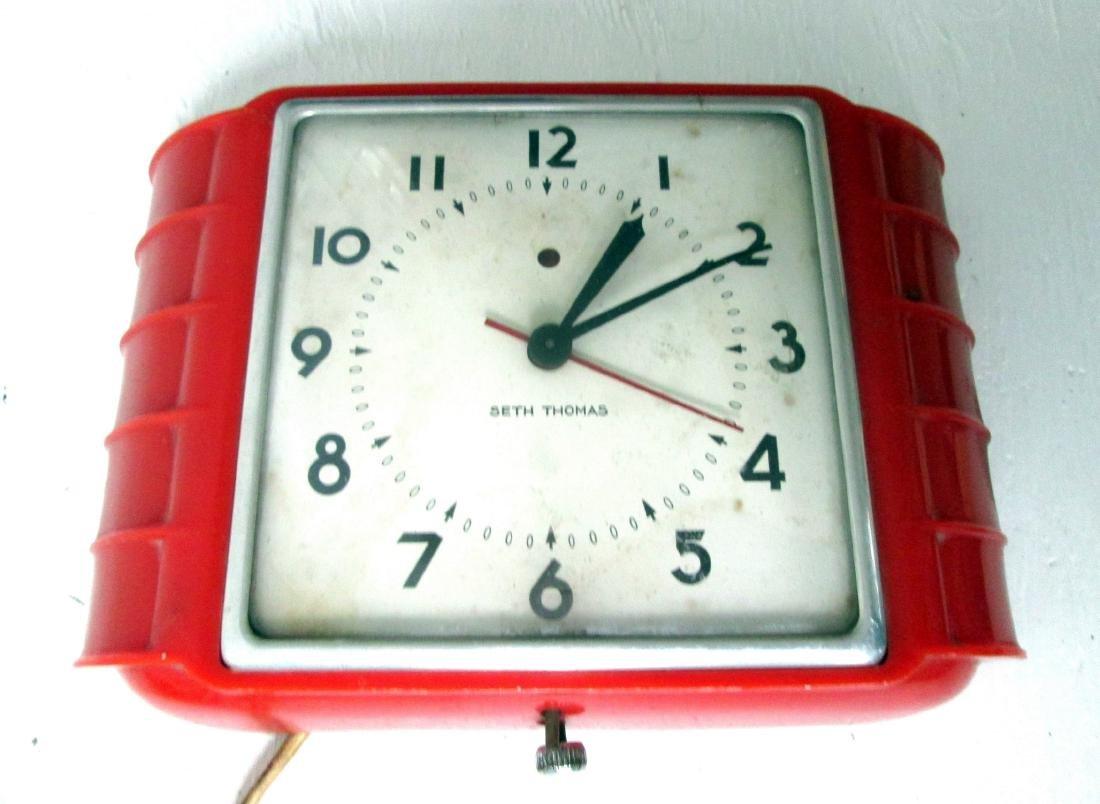 Art Deco Wall Clock - 5