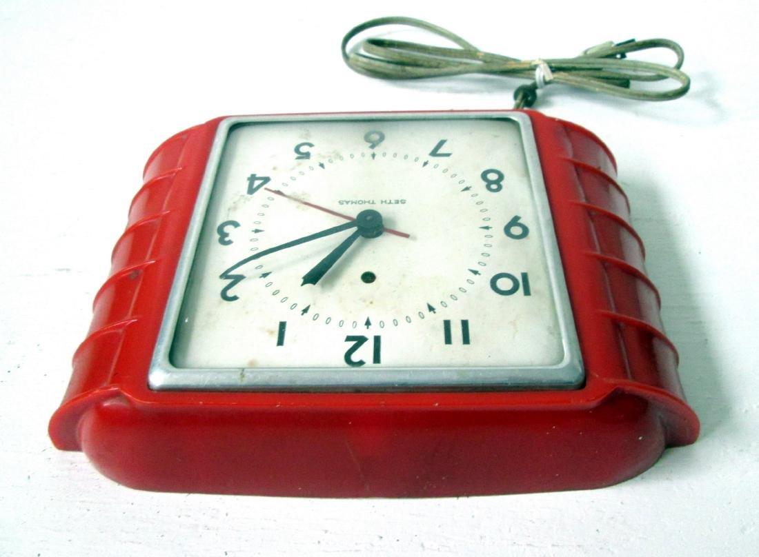Art Deco Wall Clock - 6