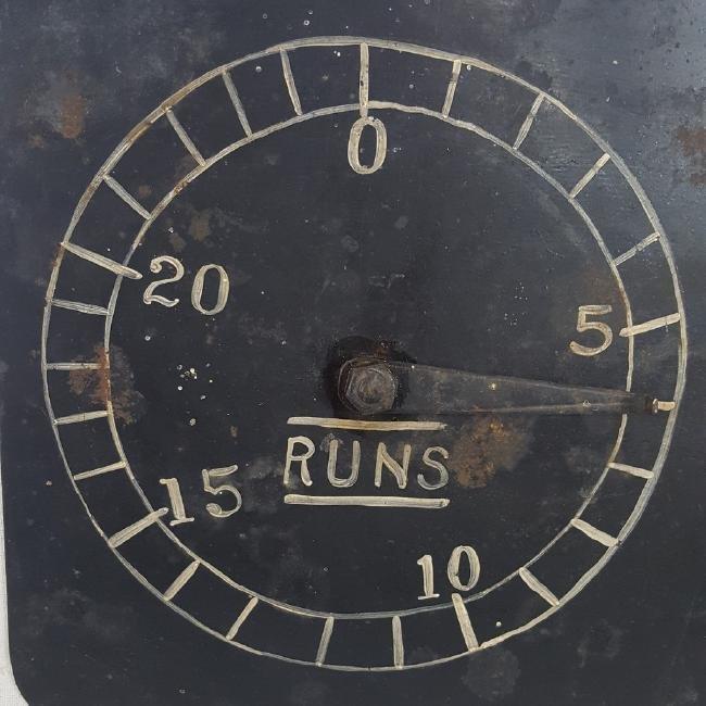 Baseball Team Scoring Dial Circa 1940 - 2