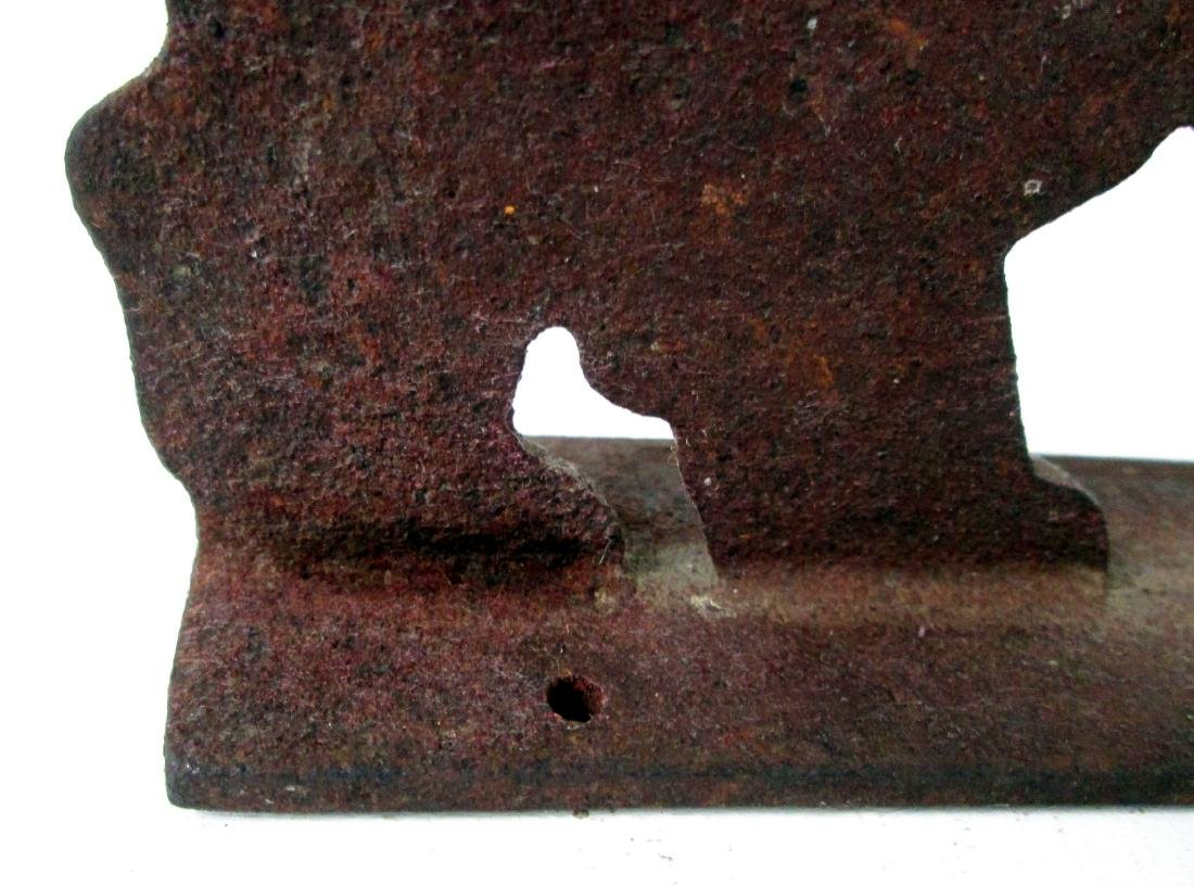 C 1900 Scottie Boot Scraper - 9