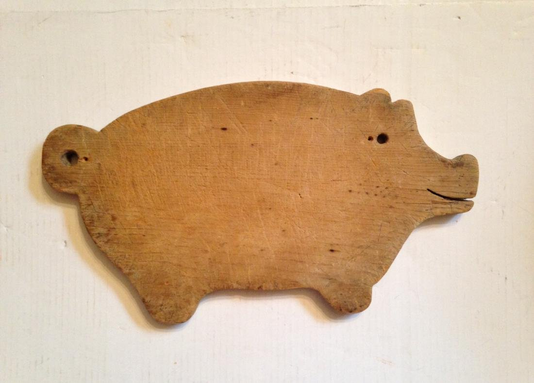 C1930 Pine Cutting Board from a Collection