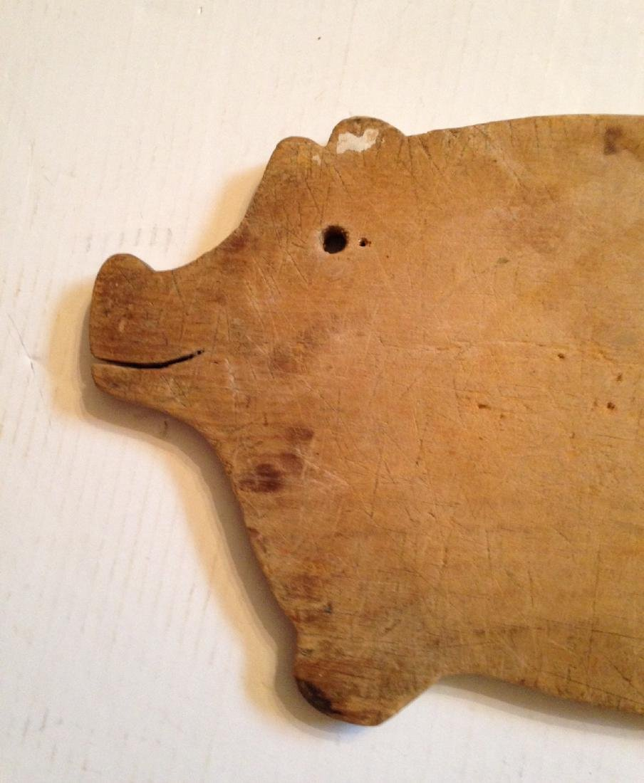 C1930 Pine Cutting Board from a Collection - 3