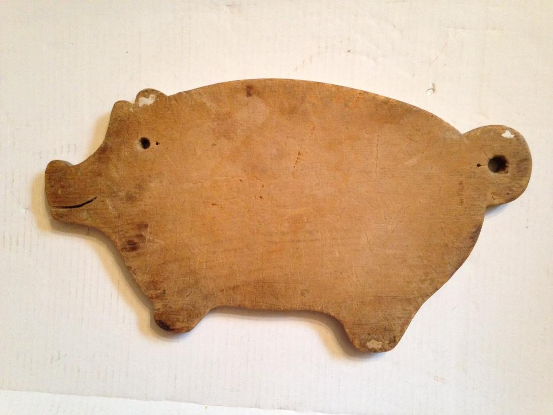 C1930 Pine Cutting Board from a Collection - 4