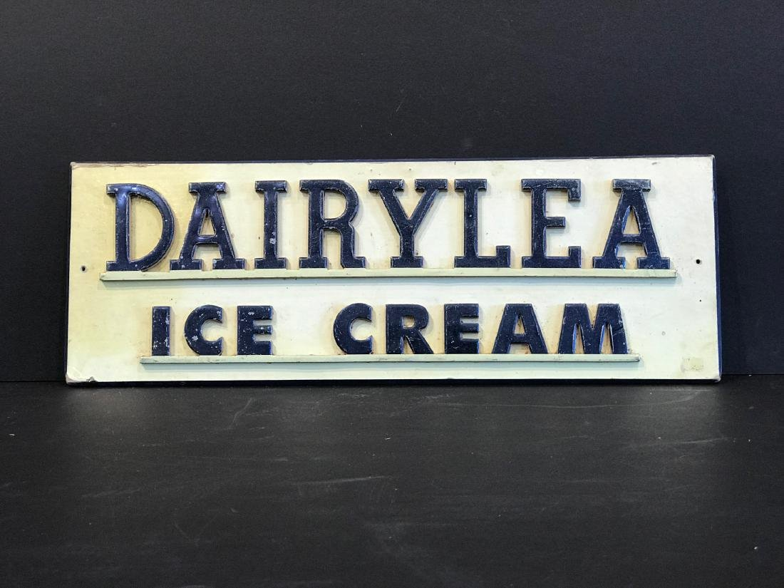Dairylea Early 20th C Sign