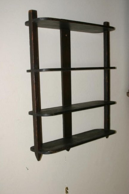 Early Painted Shelf