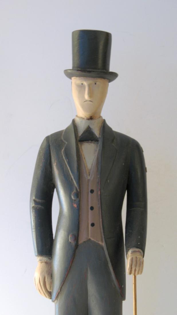 Montgomery Ward Folk Art Display Carving - 3